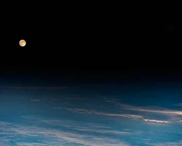Full Moon Picture from Space