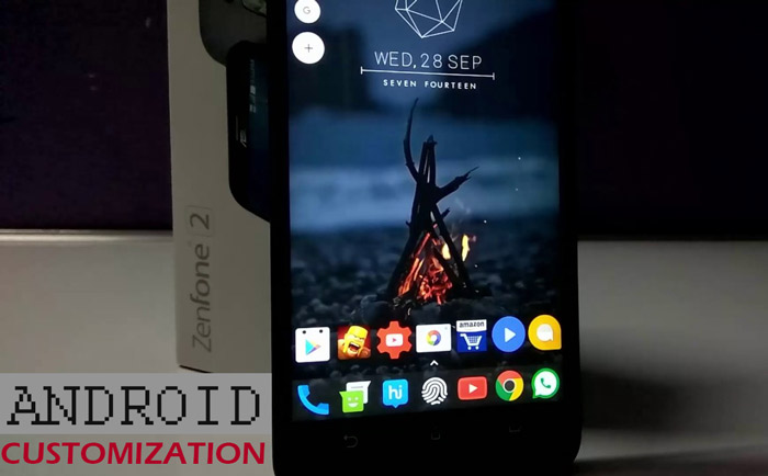customization apps for android