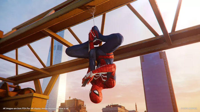 spiderman game 2018