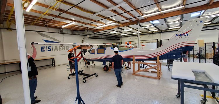 All-Electric X–57 Plane by NASA