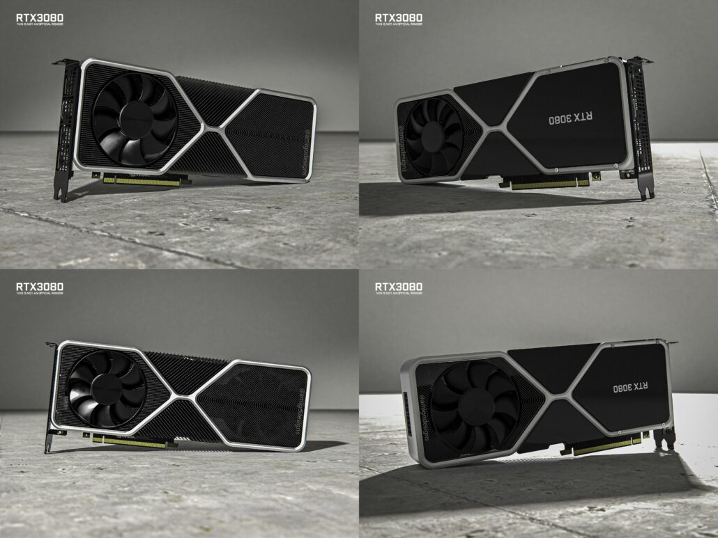 Images of New RTX 3080 GPU