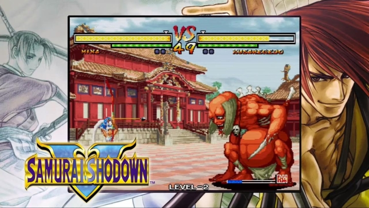 Samurai Shodown Neo Geo Collection