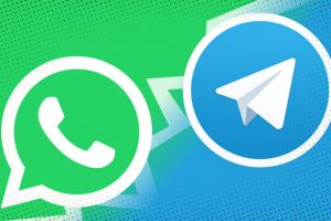 Signal Telegram WhatsApp